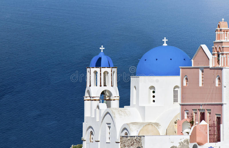 Download Santorini island in Greece stock image. Image of europe - 24700823