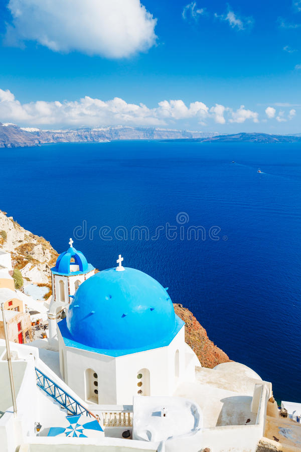 Download Santorini Island, Greece stock photo. Image of building - 25591442