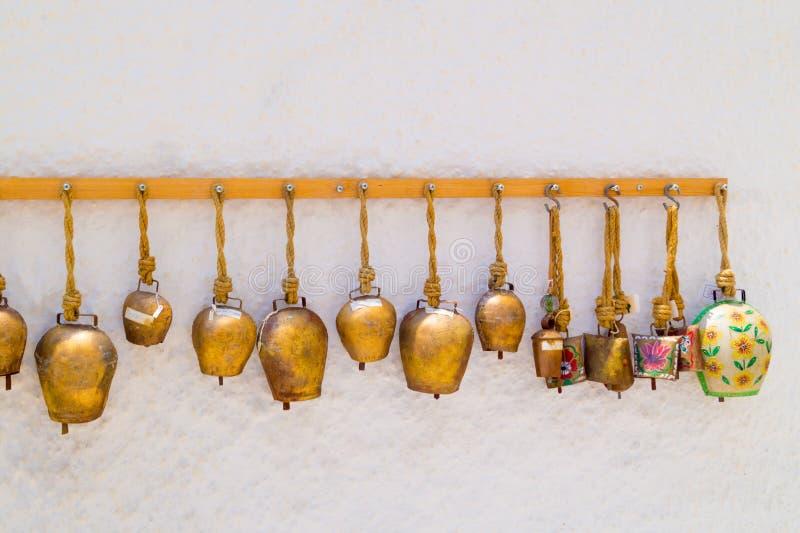 Santorini island, Greece - June 03 2015: Souvenir shop. In Santorini, Greece stock photo