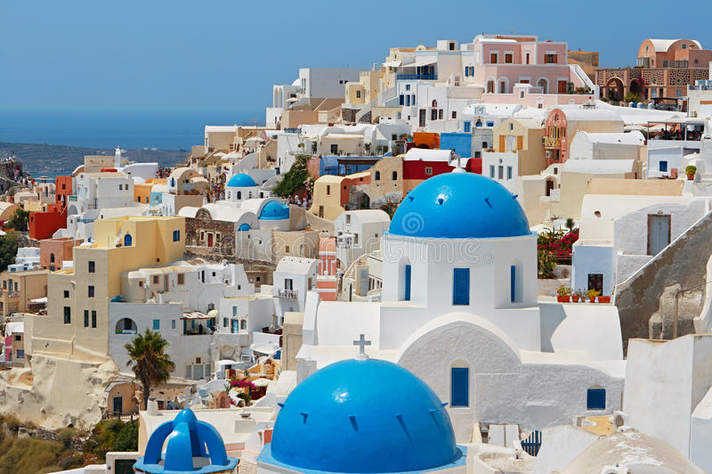 Santorini. La Grèce photos stock