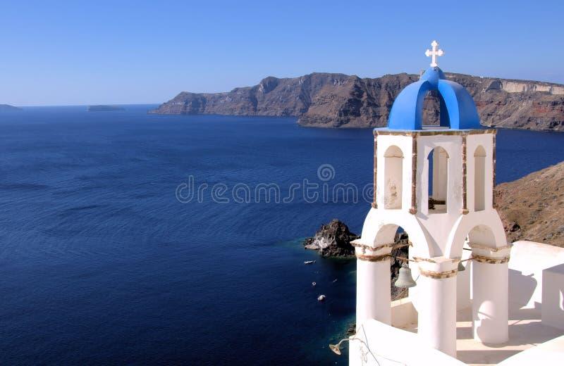 Santorini, Oia χωριό στοκ φωτογραφία με δικαίωμα ελεύθερης χρήσης