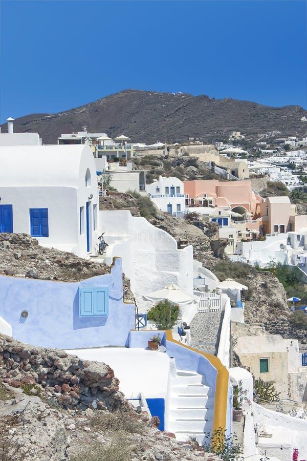 Santorini, Oia fotografie stock