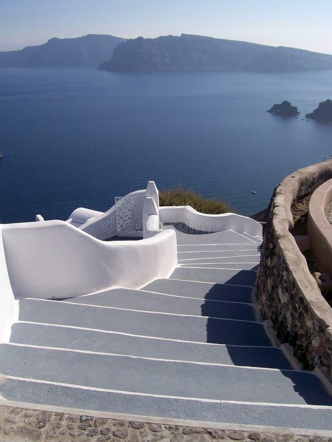 Santorini oia stock photos