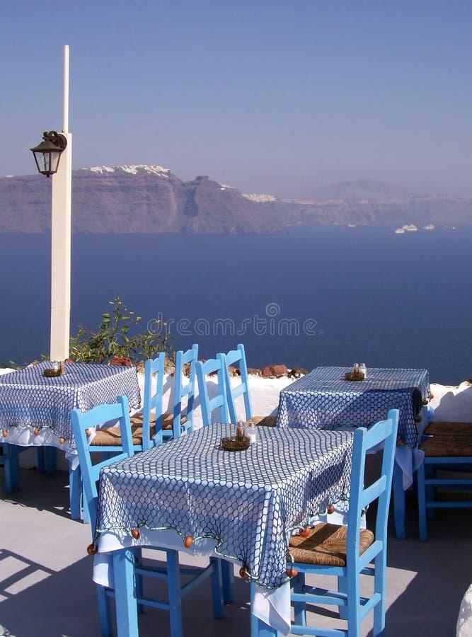 Santorini Oia lizenzfreie stockfotos