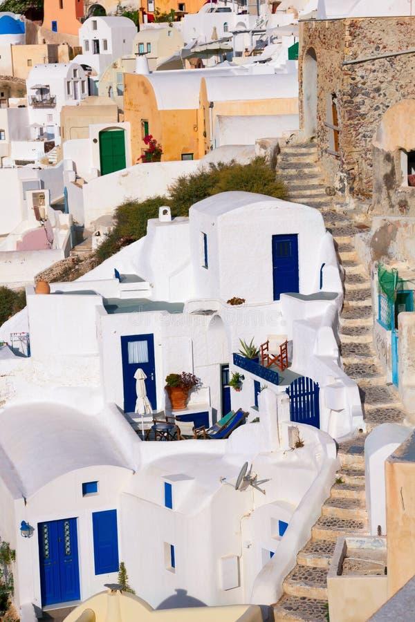 Santorini Oia στοκ εικόνες