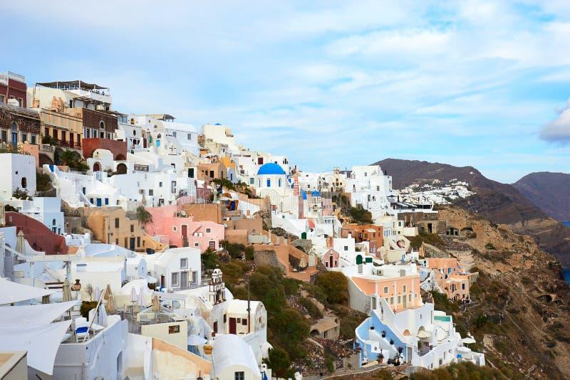 Santorini Oia στοκ εικόνες με δικαίωμα ελεύθερης χρήσης