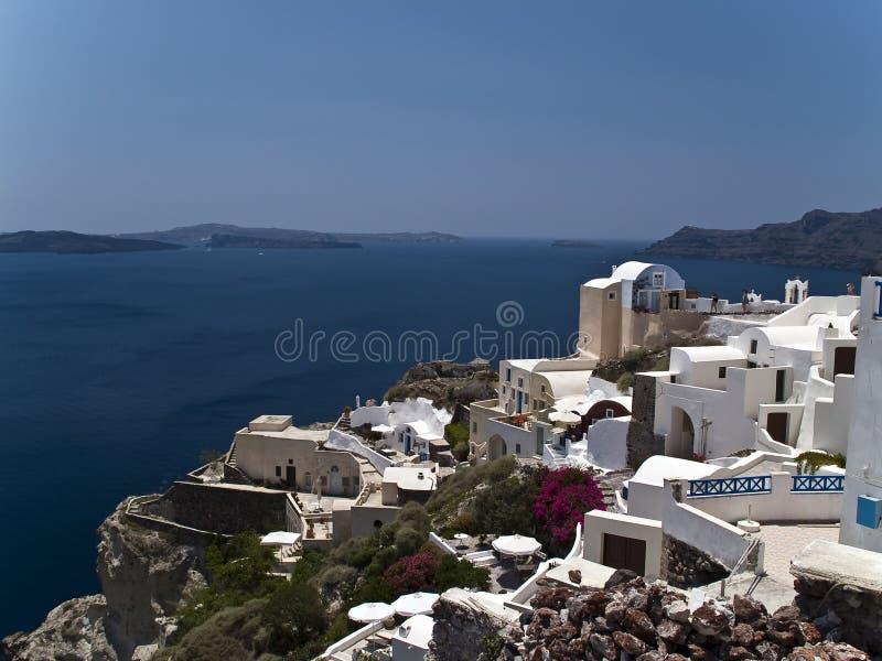 Santorini - Oia lizenzfreie stockbilder