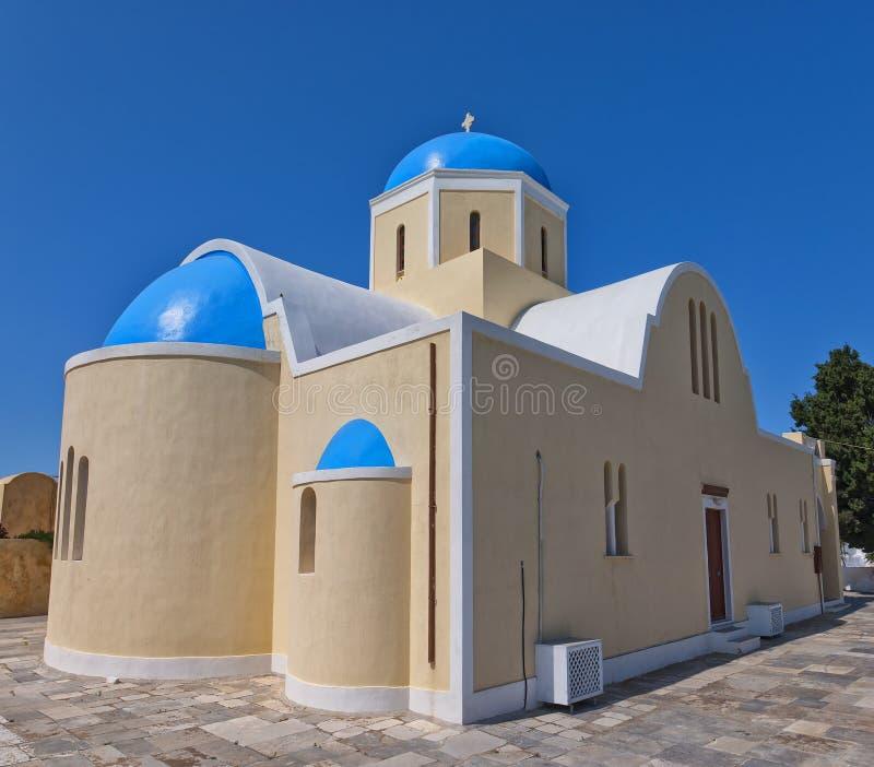 Santorini Oia Church 08 Royalty Free Stock Photography