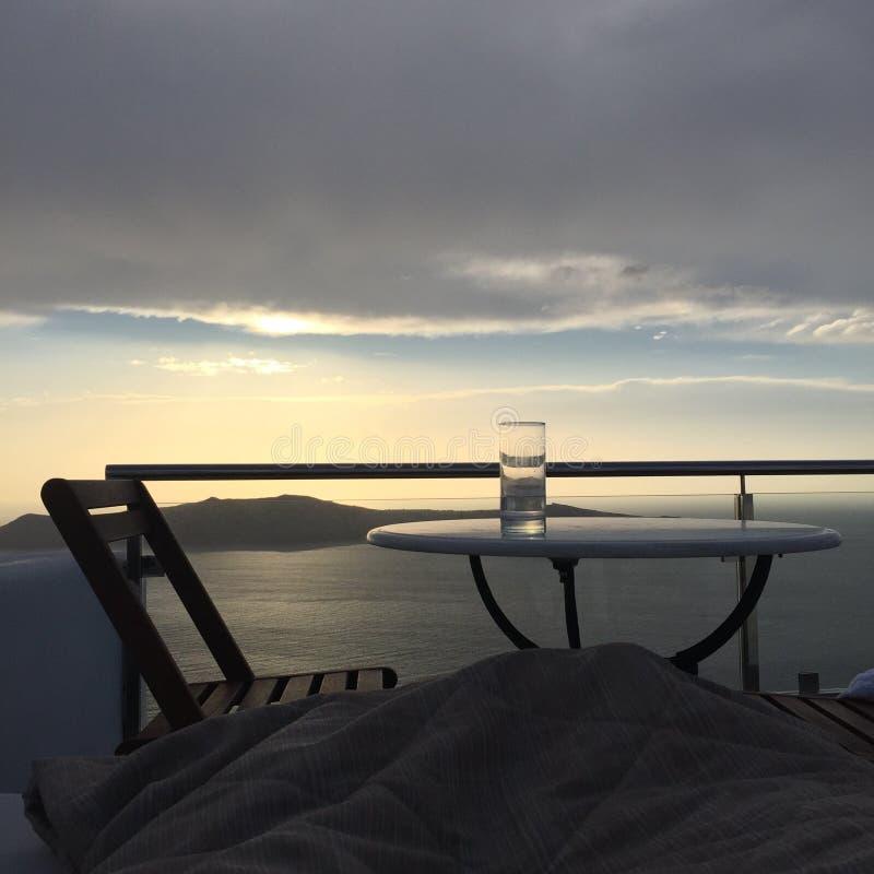 Santorini Romantic Island Greece. Santorini Greece Romantic Weeding Honeymoon Island Love Sea royalty free stock photos