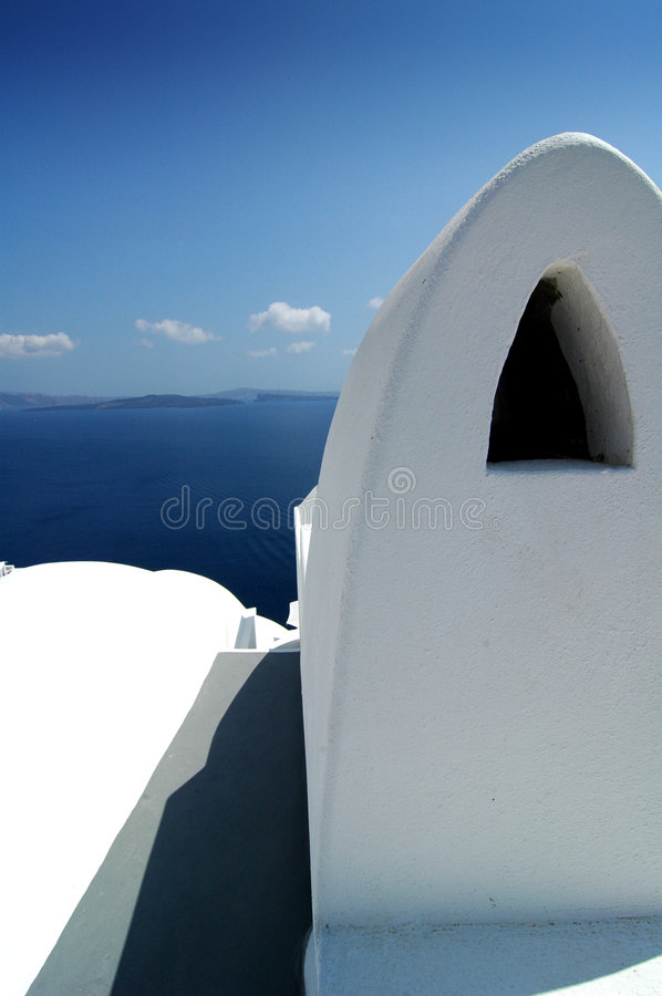 Free Santorini Shapes 2 Stock Photography - 1614602