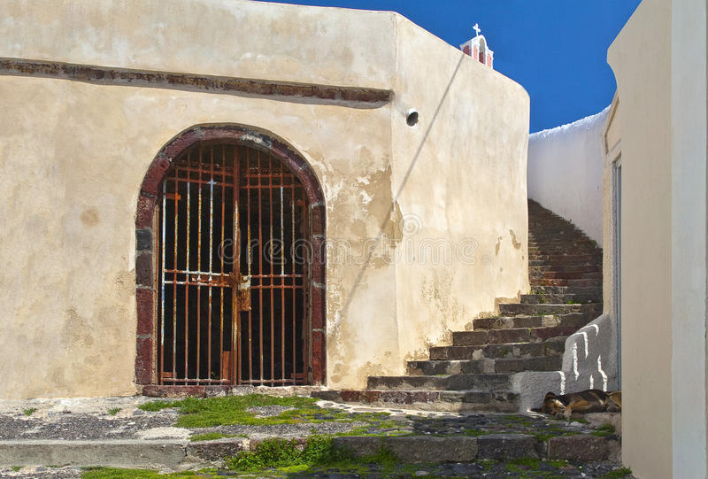 Download Santorini Steps stock photo. Image of city, romance, stairs - 23444870