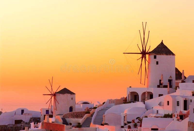 Download Santorini sunset stock photo. Image of mystery, street - 16384590