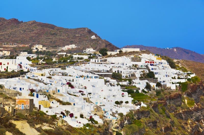 Santorini View (Oia), Greece Stock Photography