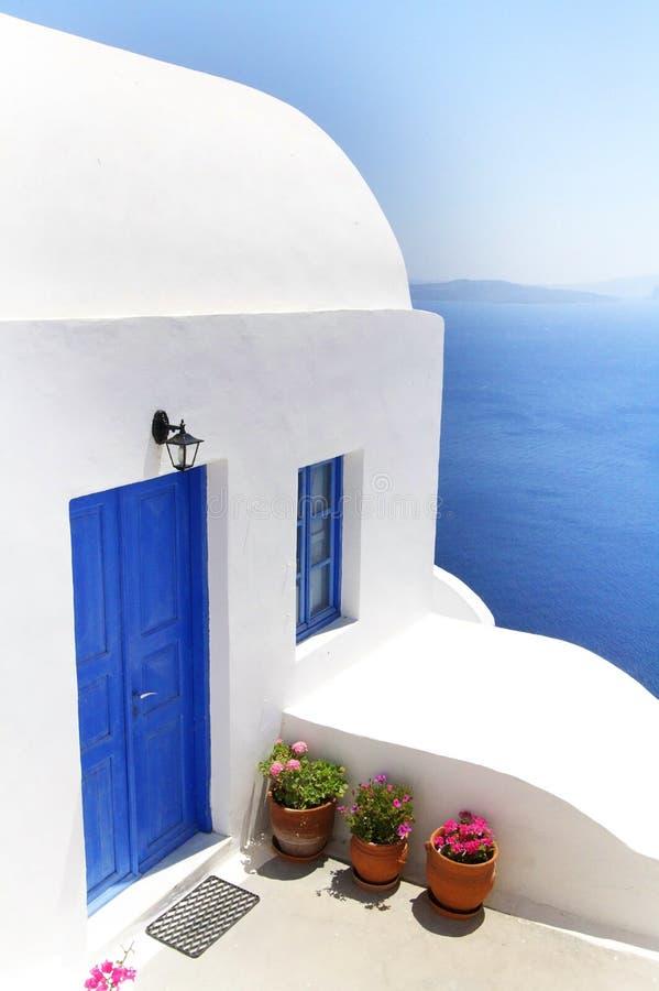 Santorini Vills Royalty Free Stock Image