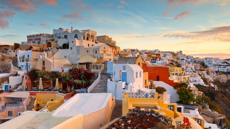 Santorini imagenes de archivo