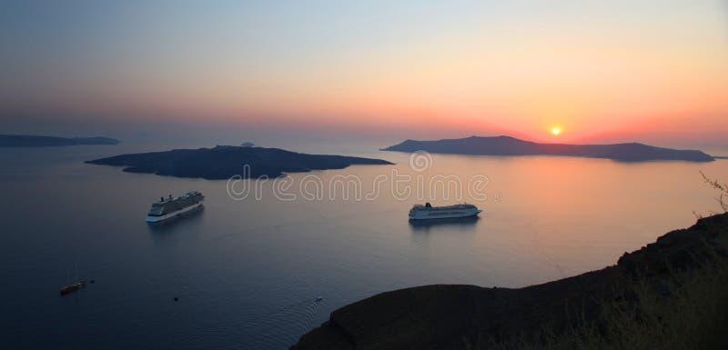 Santorini w Grecja zdjęcia royalty free