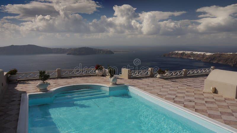 Santorini Wyspa, Grecja fotografia royalty free