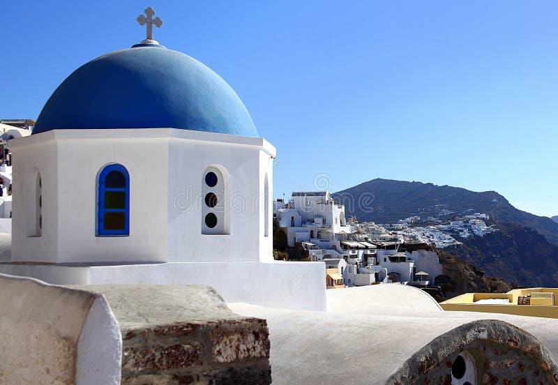 Santorini wyspa, morze egejskie, Grecja zdjęcie stock