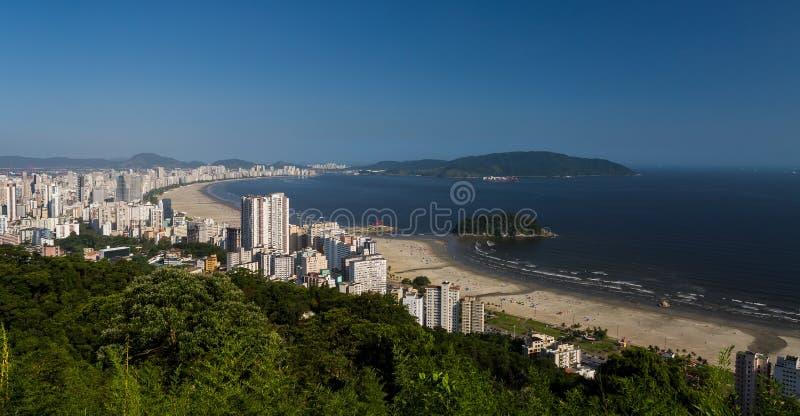 Santos, Brésil image libre de droits