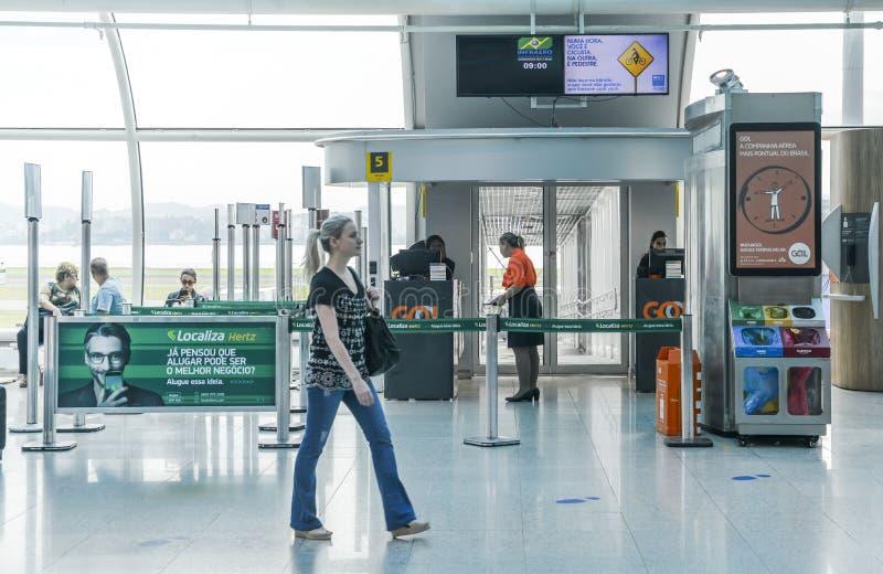 Santos Dumont Airport, Rio de janeiro, Brasil imagem de stock royalty free