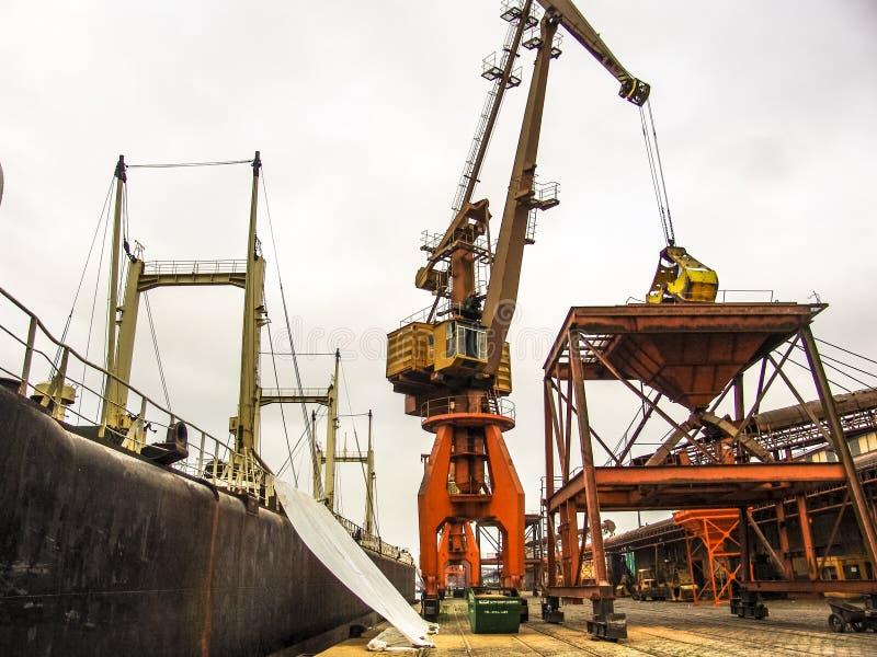 Santos Harbor royalty-vrije stock foto's