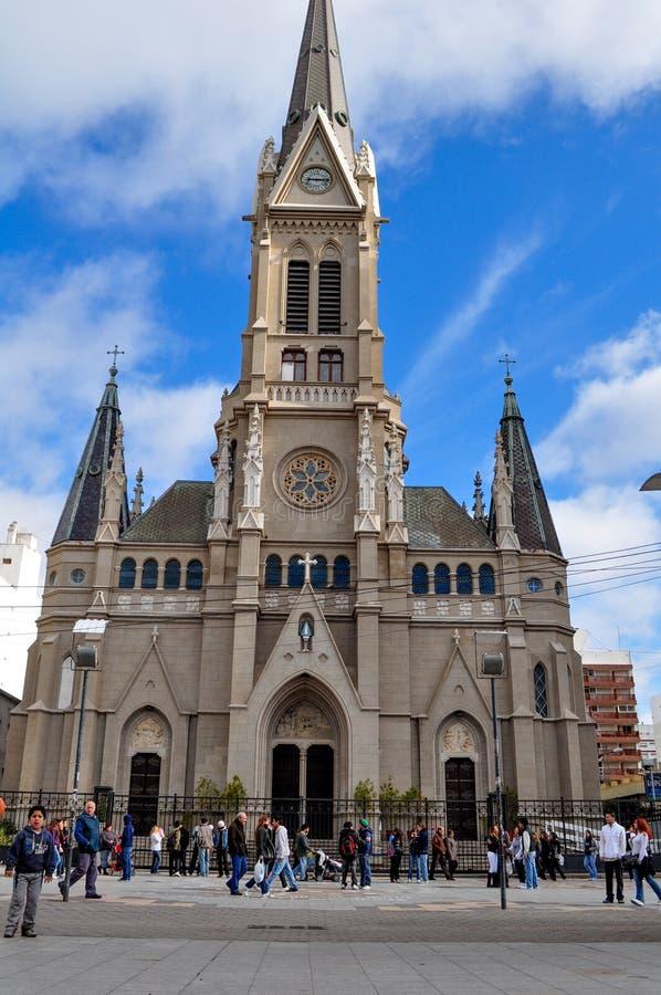Santos Pedro y Cecilia Cathedral en mars del Plata, Buenos Aires photo libre de droits