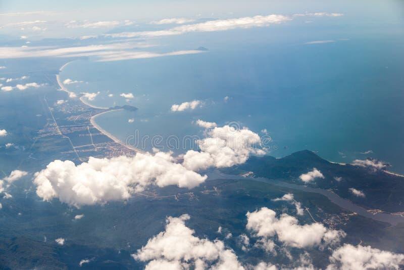 Santos Shore Brazil photos stock