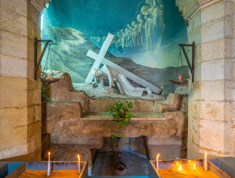 Santuário com Jesus imagem de stock royalty free