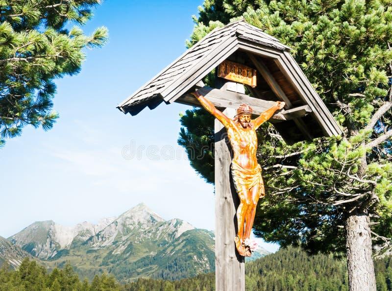 Santuário cristão do Wayside foto de stock