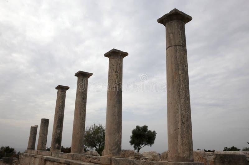 Santuário de Apollo imagem de stock