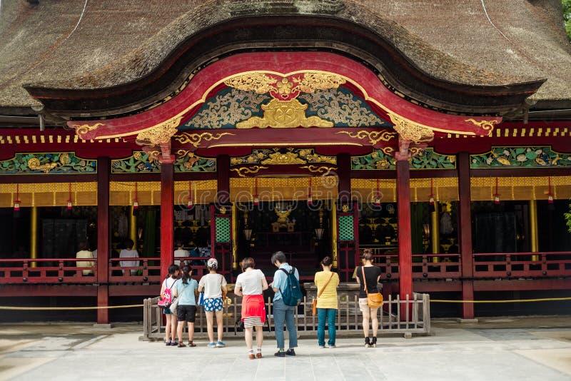 Santuário de Dazaifu Tenmangu imagem de stock