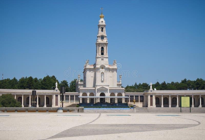 Santuário de Fatima em Portugal fotografia de stock royalty free