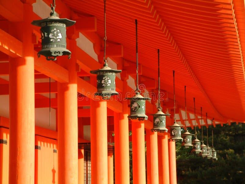 Santuário de Heian foto de stock royalty free