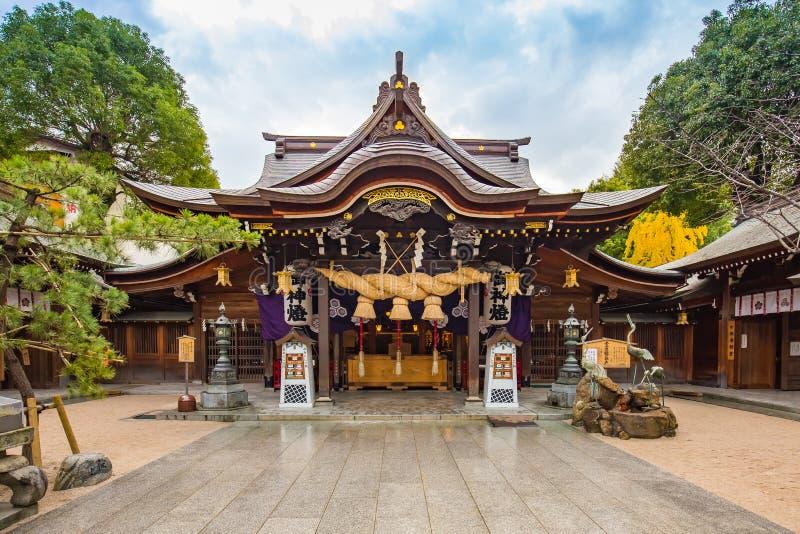 Santuário de Kushida em Hakata, Fukuoka - Japão fotos de stock royalty free