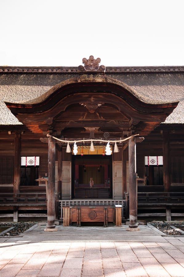 Santuário de Oyamazumi - ilha de Omishima - Ehime, Japão fotografia de stock