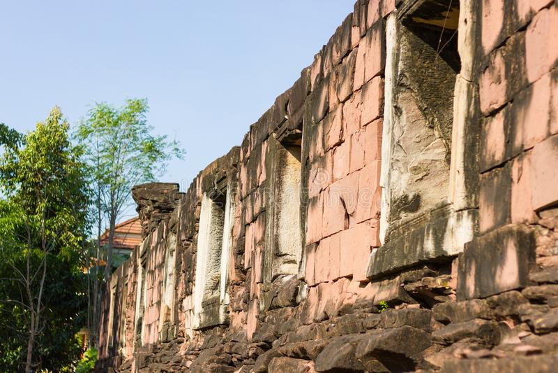 Santuário de Phimai imagens de stock royalty free