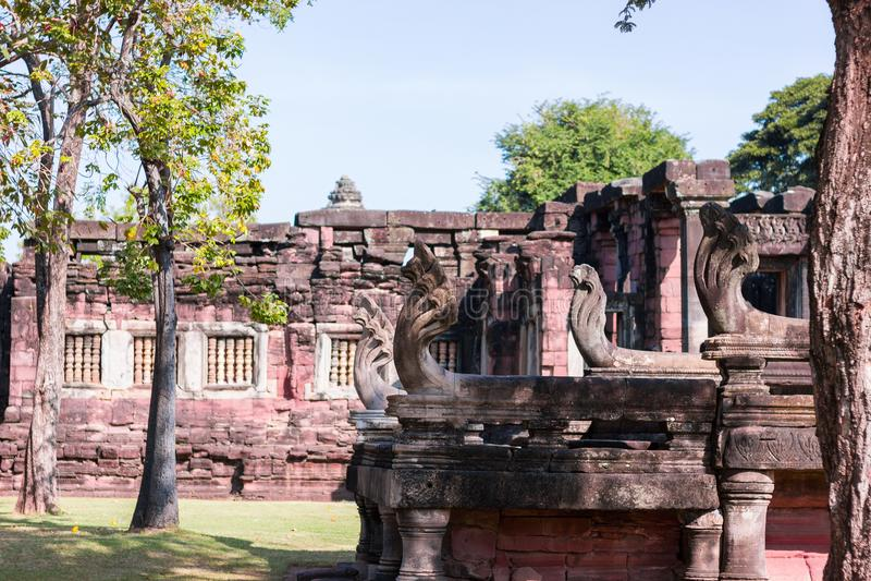 Santuário de Phimai imagens de stock