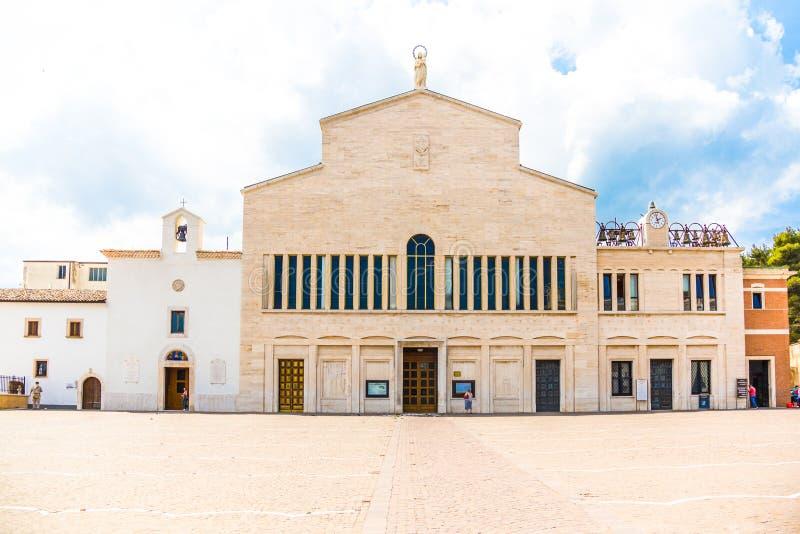 Santuário de San Giovanni Rotondo, Apulia, Itália fotografia de stock royalty free