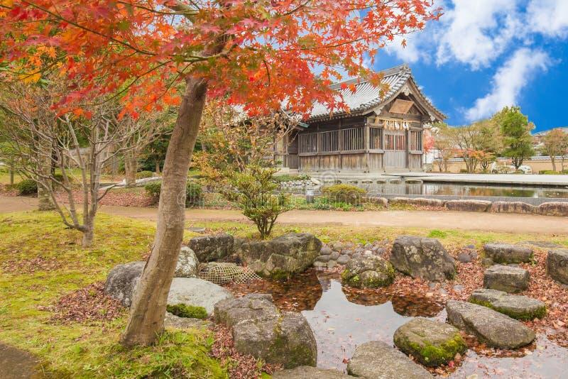 Santuário de Tenmangu em Dazaifu em Fukuoka, Japão fotos de stock
