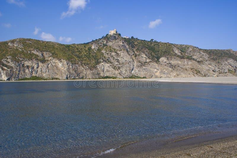 Santuário de Tindari, Sicília em Itália foto de stock royalty free