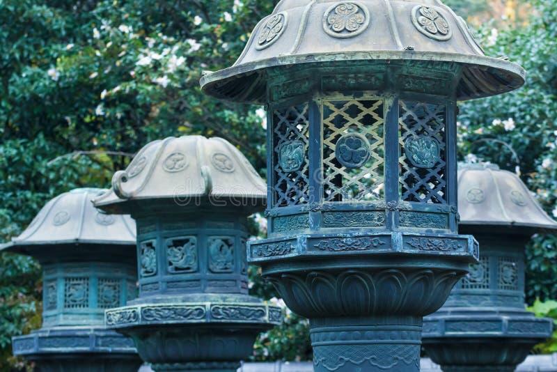 Santuário de Toshogu no parque de Ueno no Tóquio fotos de stock royalty free