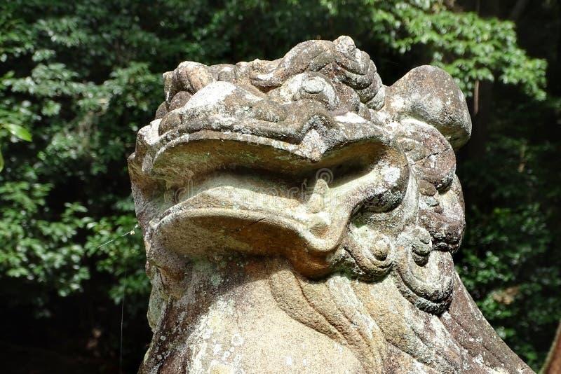 Santuário de Ujigami, um santuário xintoísmo na cidade de Uji na prefeitura de Kyoto, Japão foto de stock royalty free