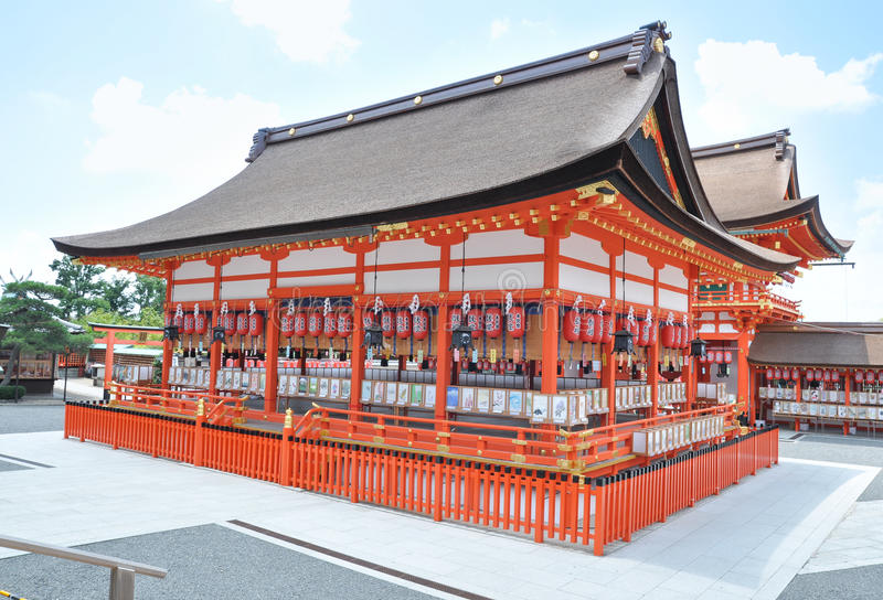 Santuário de Yasaka foto de stock royalty free