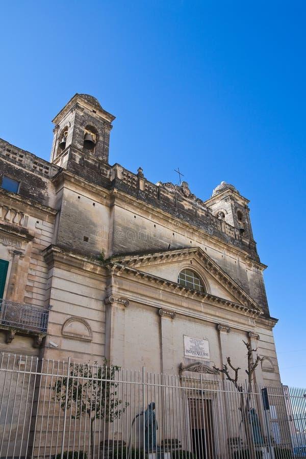 Santuário do bebê de Gesu. Massafra. Puglia. Itália. fotografia de stock royalty free