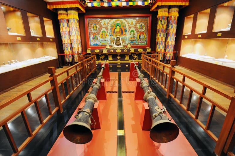 Santuário do Buddhism tibetano imagens de stock royalty free