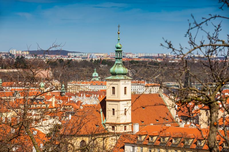 Santuário do infante Jesus de Praga imagens de stock royalty free