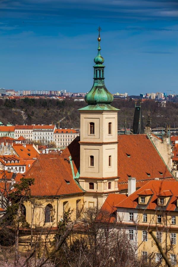 Santuário do infante Jesus de Praga imagem de stock