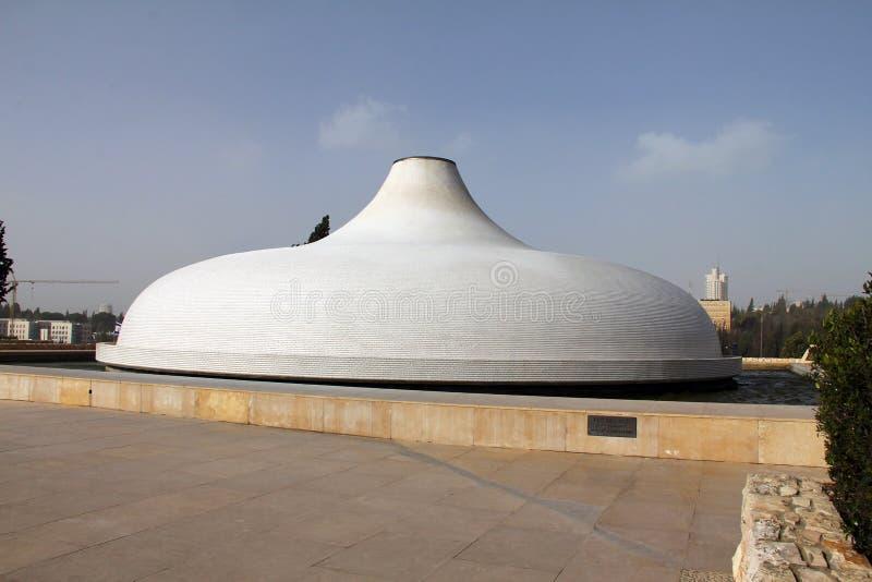 Santuário do livro. Jerusalem. Israel imagem de stock