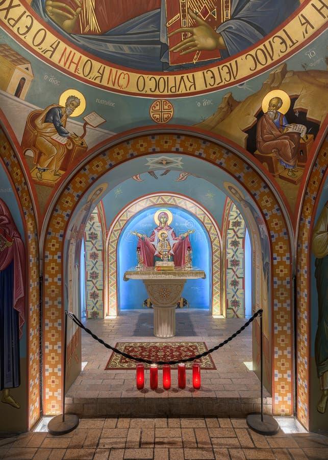 Santuário do St Photios fotos de stock