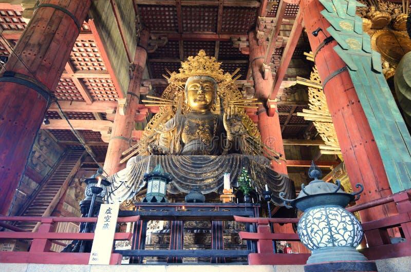 Santuário do templo de Todaiji imagem de stock
